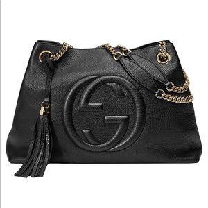 Gucci Soho Large Leather Chain Shoulder Handbag